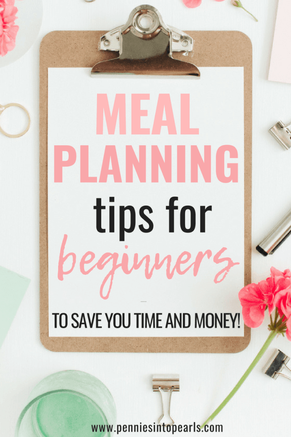New to meal planning? These awesome meal planning printables helped me learn how to meal plan the right way and save a ton of time and money! This meal planning toolkit taught me such an easy way to meal plan for my whole family and stick to my grocery budget!