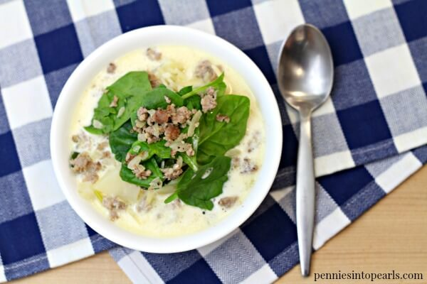 Olive Garden Zuppa Toscana Copycat Recipe for Cheap