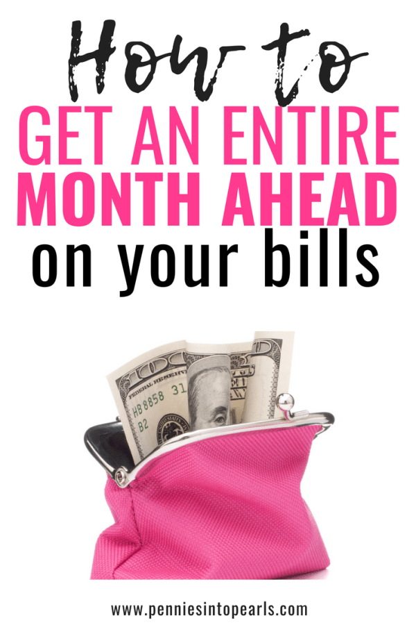 These tips to get ahead on bills were so helpful to me!  I was so far behind and didn't think I could catch up since I don't make a lot of money but this post definitely helped me improve my financial situation!