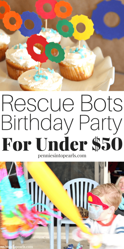 Use These Rescue Bots Birthday Party Ideas To Throw Your Next And Keep