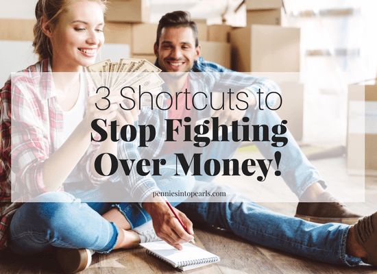 3 shortcuts to help you have a meaningful and successful experience in talking about money with your spouse! These money tips will show you how a 10 minute budget date can set some ground rules that will get your money conversation started and help you to talk about money on a regular basis that doesn't take up all your time!