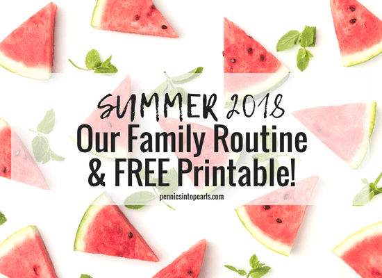Use this FREE Summer Schedule for Kids Printable to get your family motivated to get the important chores out of the way to make room for fun summer activities. Your summer schedule for kids will help create a summer routine for kids that they love and learn the rewards of working hard.