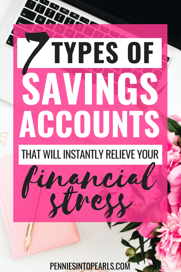 7 Savings accounts that your family will be financially lost without! These are the exact financial umbrellas you need in order start setting up different savings accounts to prepare for a rainy day. These 7 individual savings accounts are going to be a major stress saver, guaranteed!