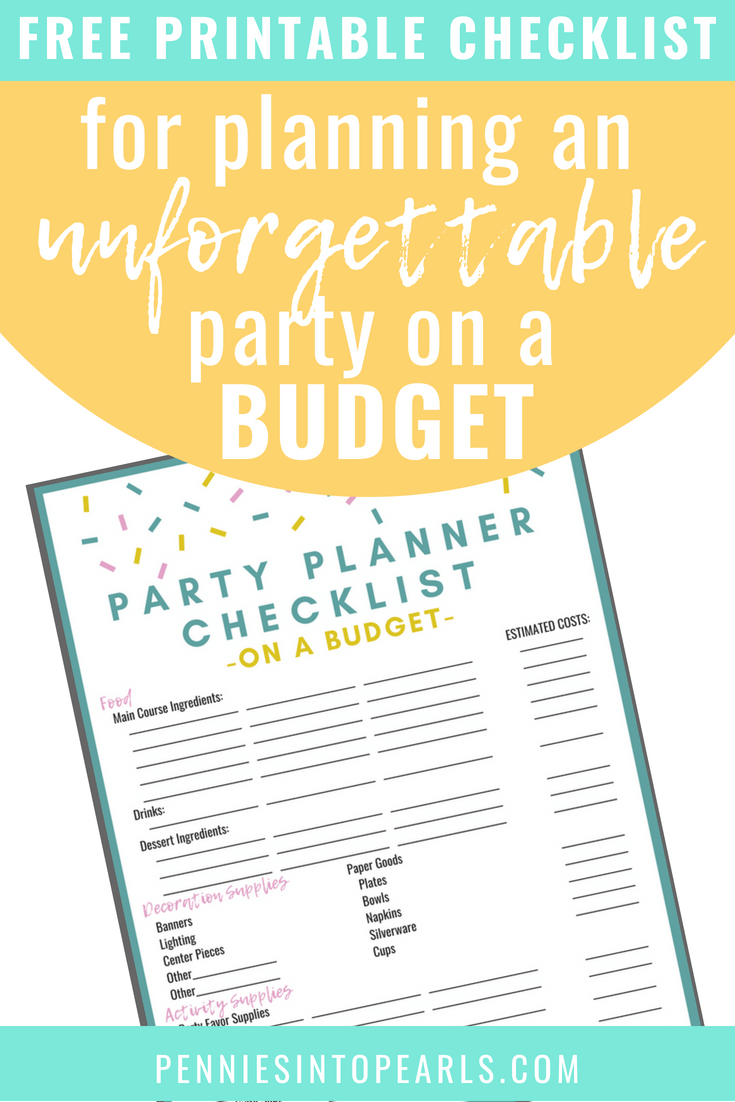 13 brilliant tips for diy party planning on a budget pennies into