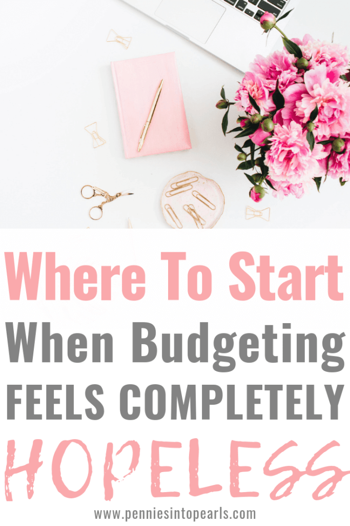Figuring out how to start a budget as a beginner can be overwhelming. What about starting a budget when you are behind on the bills? Or starting a budget when you are deep in debt? There are so many challenges that can make budgeting for beginners feel impossible. Good news! That is not reality! Starting a budget is actually a life saver and can help you get rid of stress! This article is going to hold your hand through the entire process!