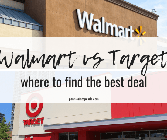 The ultimate showdown of Walmart vs. Target and who has the best deals once and for all. A side by side comparison of who has the best prices on groceries, who has the best customer service, and who is better overall. Walmart vs. Target!