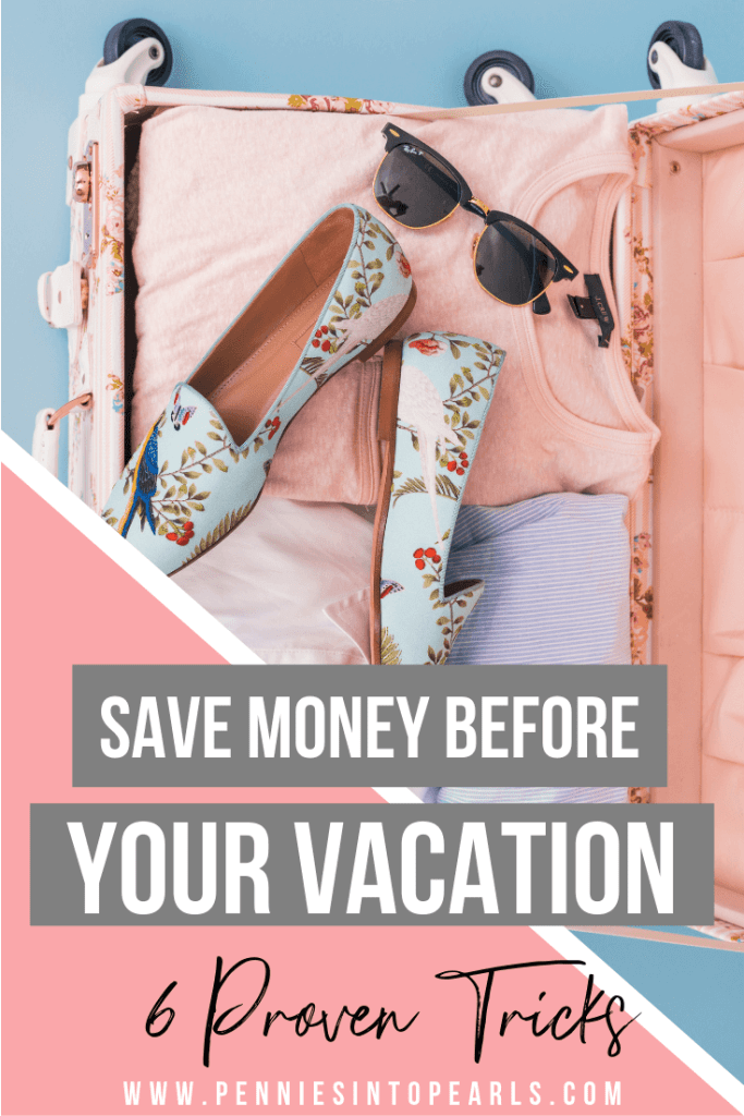 Here are my top tips for saving money before you even go on vacation. Have you thought about how you can plan ahead and make saving money a routine for your family? These tricks have helped our family save hundreds of dollars.