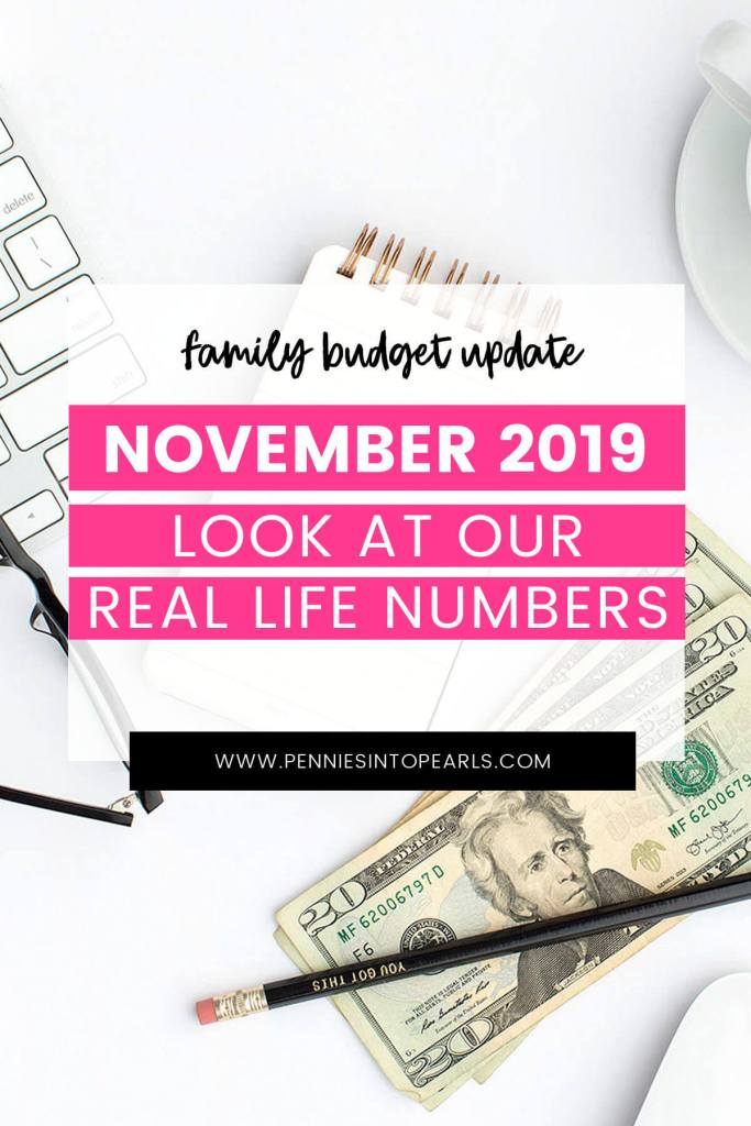 November can be a pretty crazy time of year for budgeting but the crazy thing is that it doesn't stress me out at all! Starting a family budget doesn't have to be restrictive! See how our family learns to budget every month.