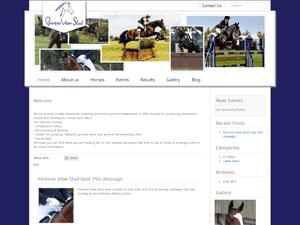 Pennine View Stud Web Screenshot