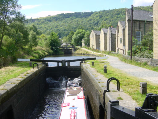 Stubbing Lower Lock, Rochdale Canal