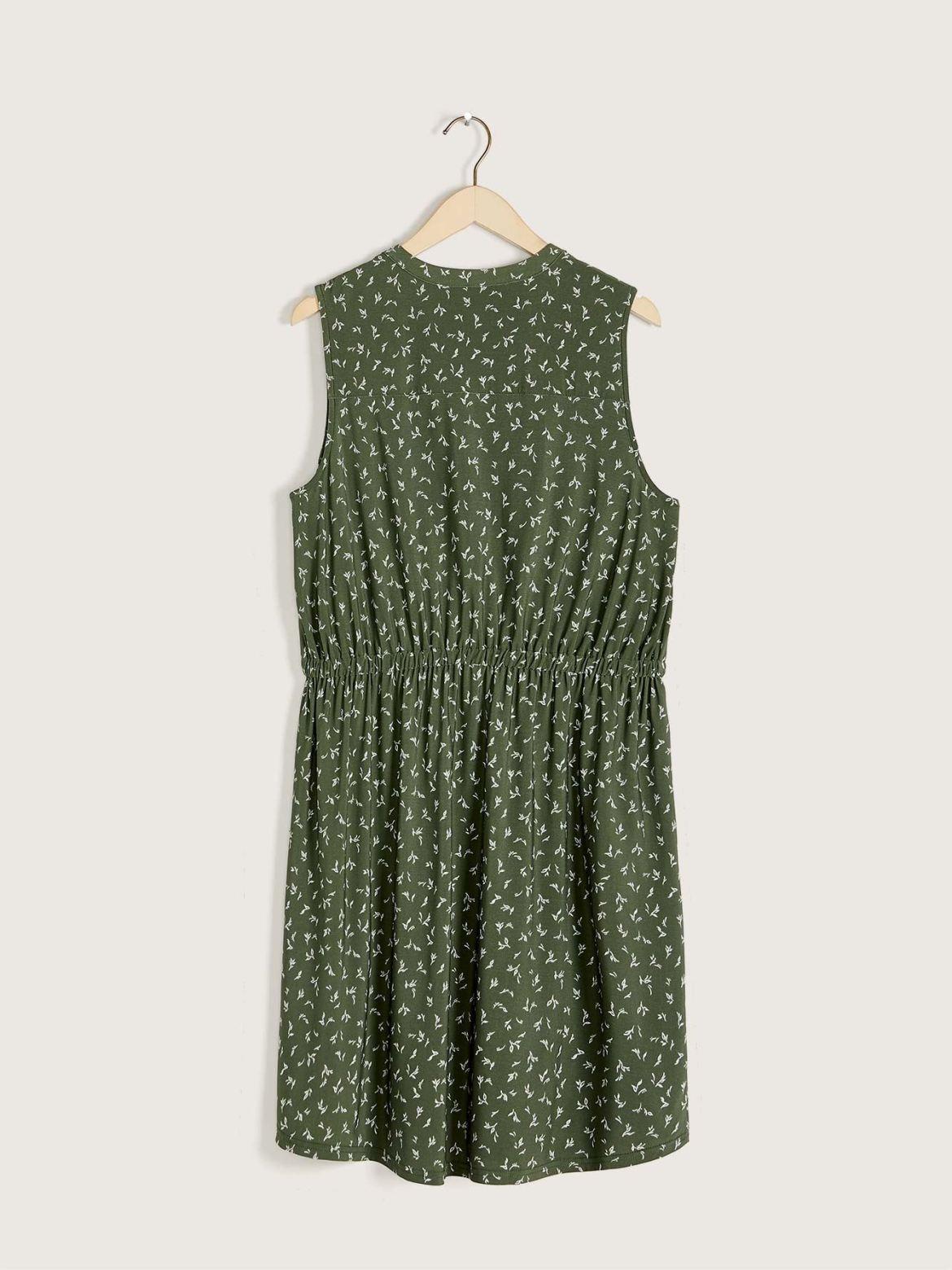 Sleeveless Fit & Flare Dress - Addition Elle
