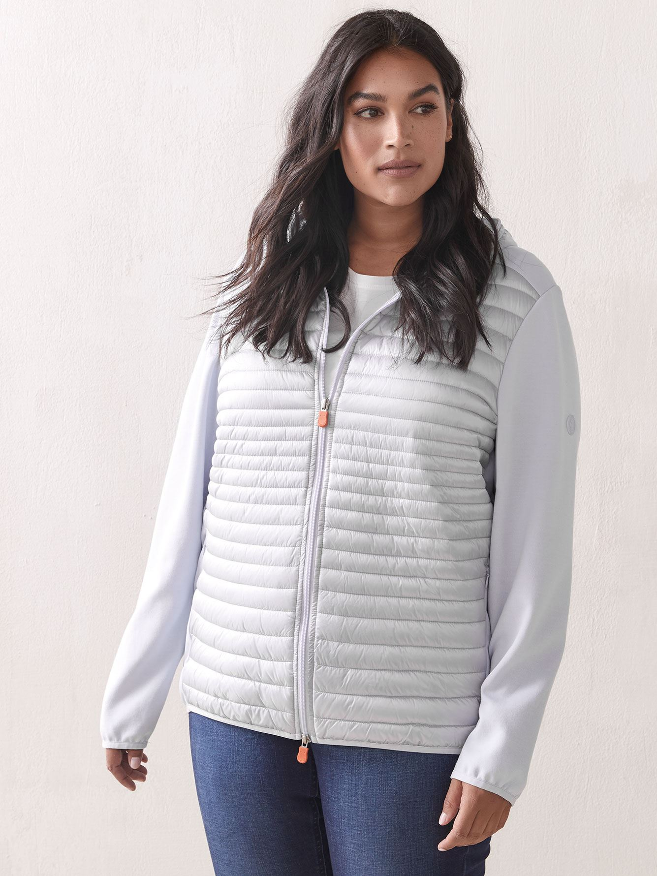 Knit-Sleeve Packable Jacket - Save The Duck 4