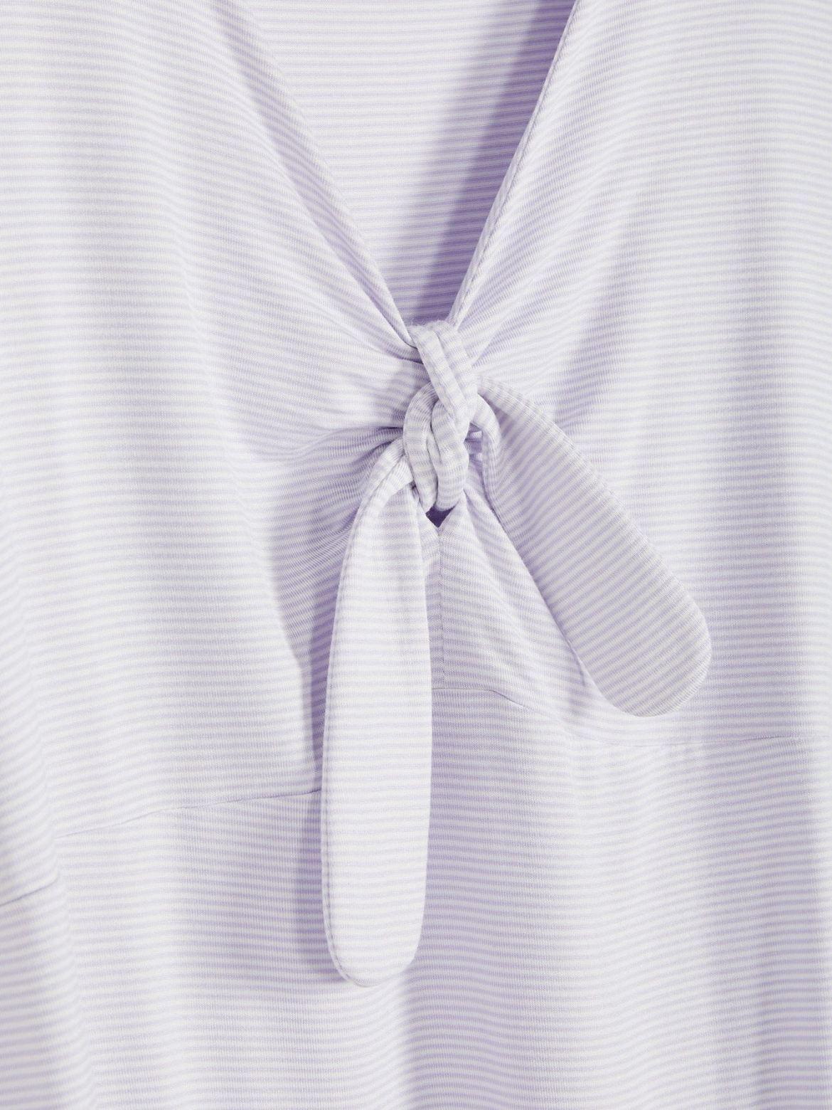 V-Neck Short Sleeve Swing T-Shirt - In Every Story