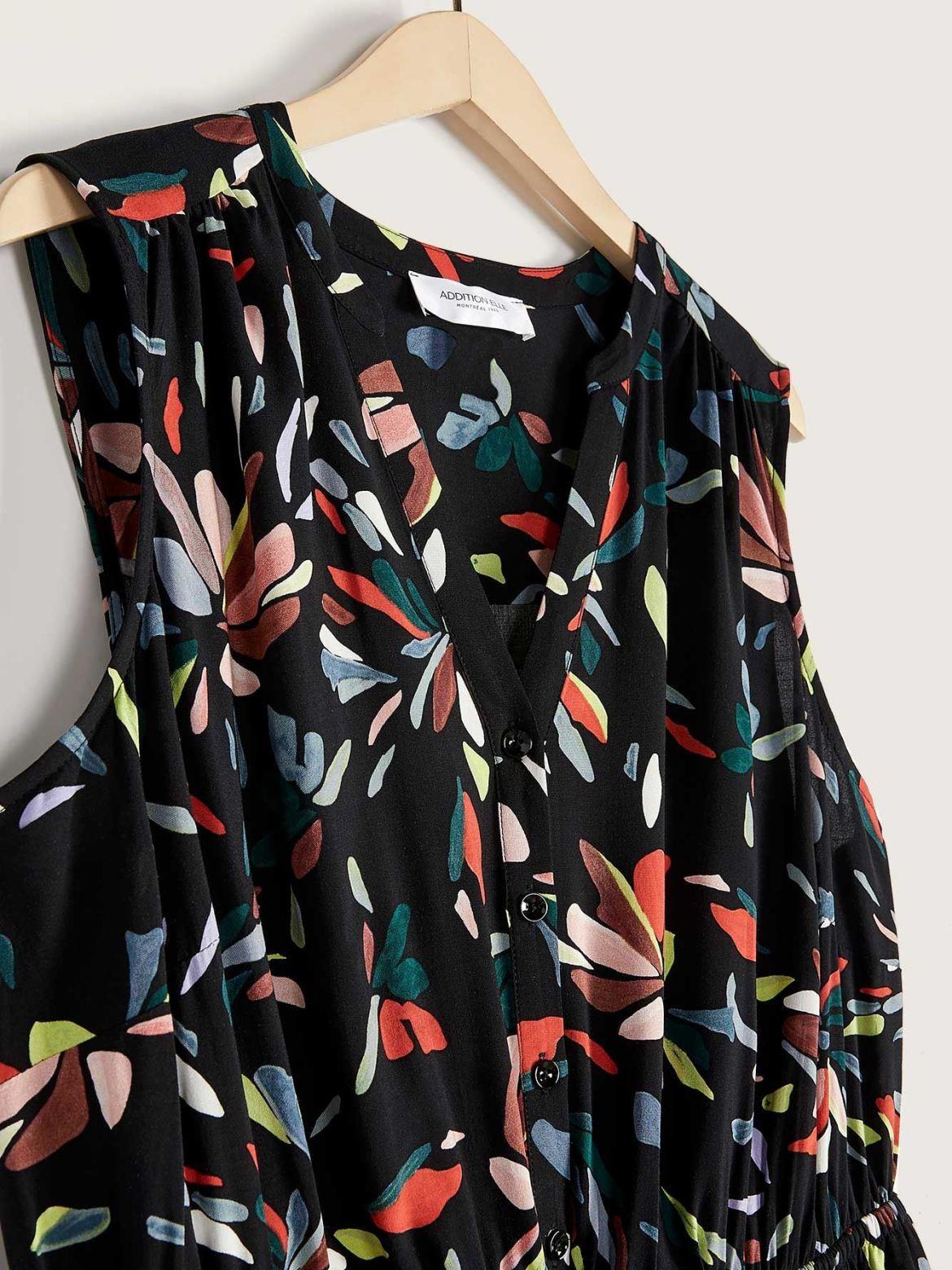 Sleeveless Shirt Dress - Addition Elle