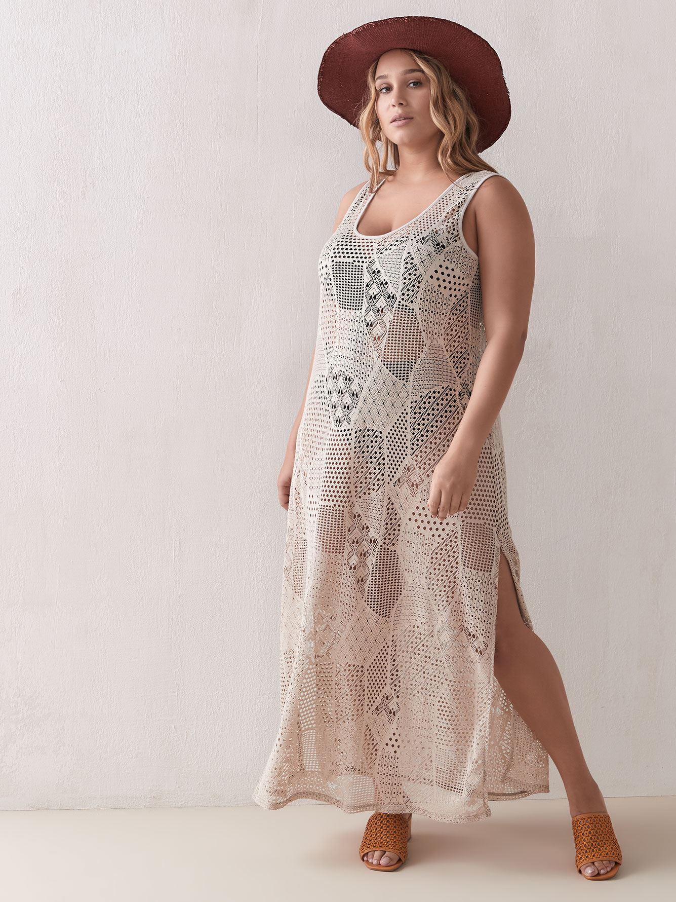 Sandy Bay Crochet Maxi Dress - Cover Me 4