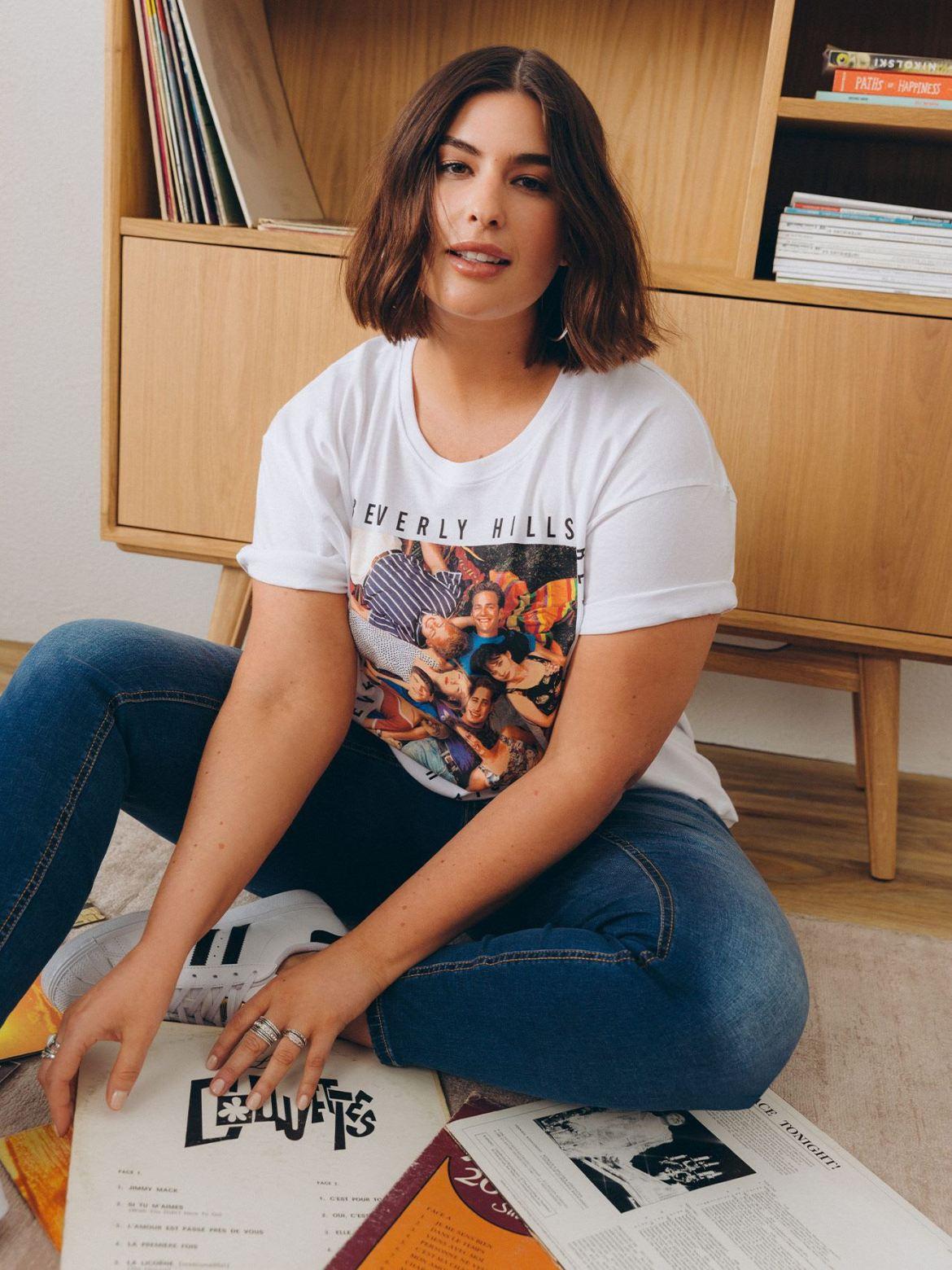 Boyfriend License T-Shirt - Addition Elle