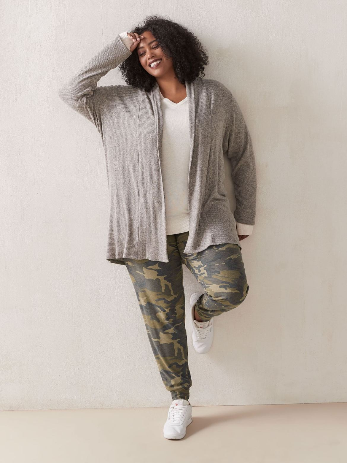 Long Sleeve Open Cardigan - In Every Story