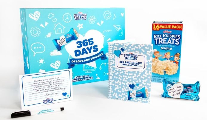 Rice Krispies Treats love and support kit