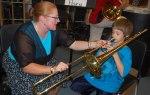test drive the trombone