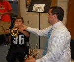 test driving the trumpet