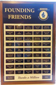 Founding Friends Plaque