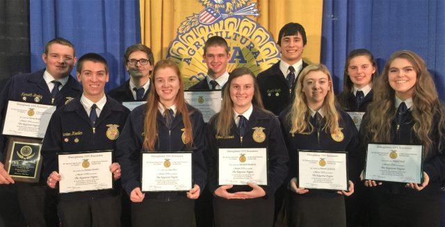 Keystone Award recipients
