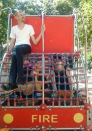 les pennons Baraban au jardin d'enfants