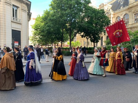 Défilé du 16 mai 2019