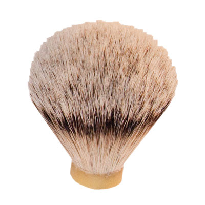 silver tip badger hair shaving brush 20 5mm base first quality at penn state industries