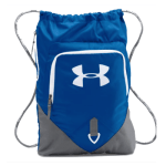 Personalized Drawstring Bag (royal) $30