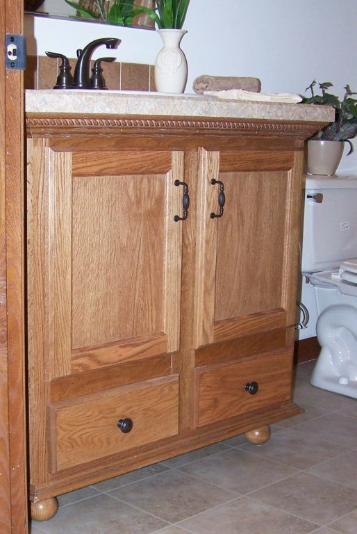furniture style bath vanity | pennwest homes