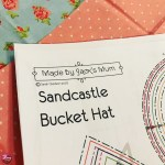 Sandcastle Bucket Hat Made By Jack S Mum Penny Blogs