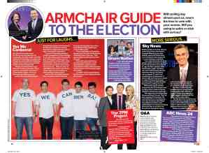 Election guide TV Week