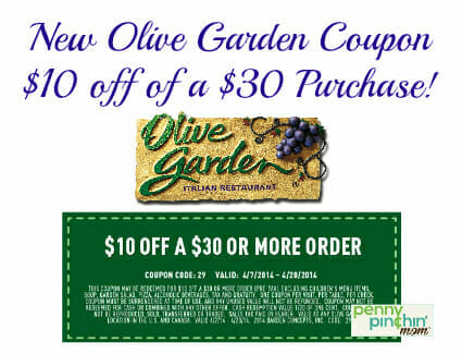 Image Result For Olive Garden Coupons