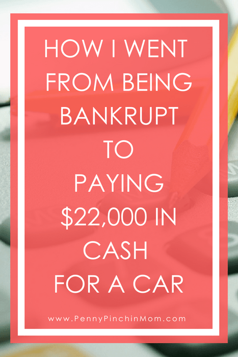 Debt Free Strategies - Bankrupt to paying $22k cash for car