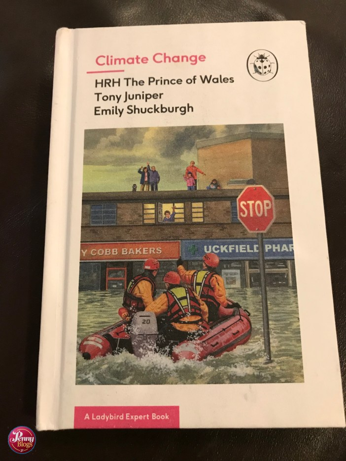 The front cover of the Ladybird Expert book Climate Change