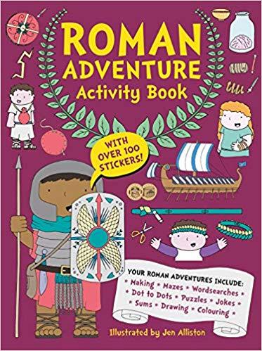 Review: Roman Adventure Activity Book