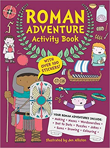 Review: Roman Adventure Activity Book
