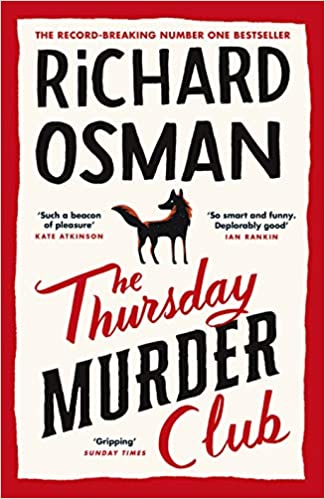 Cover or The Thursday Murder Club by Richard Osman