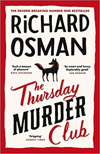 Cover or The Thursday Murder Club by Richard Osman