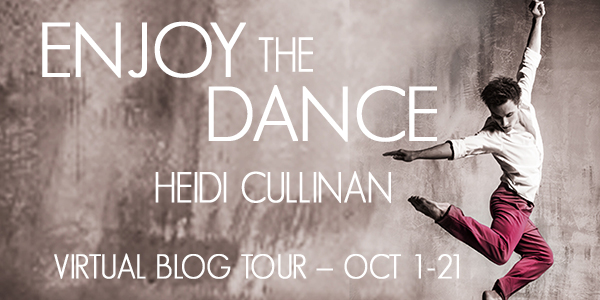 Blog Tour Interview with Enjoy the Dance Author Heidi Cullinan and Rafflecoptor Giveaway