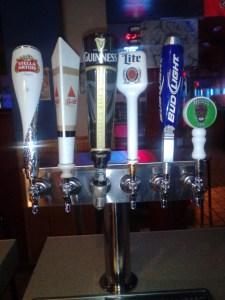 Penny Road Pub list of Beer on Tap