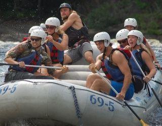 Full Penobscot River Rafting Trip