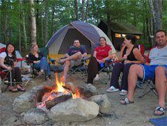 """""""The Knoll"""" campsite in the lower campground."""