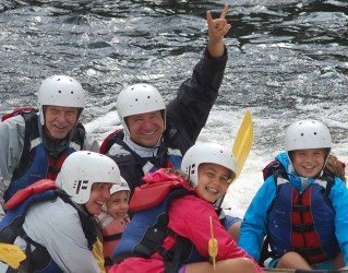 The Lower Penobscot Whitewater Rafting Trip