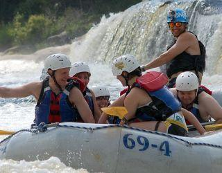 The Full Penobscot River Rafting Trip