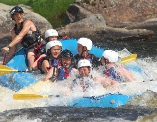 1/2-Day Upper Penobscot Rafting Trip