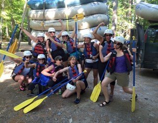 Bachelorette Party Whitewater Rafting