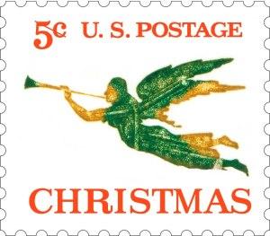 Scott #1276 5-cent stamp USPS