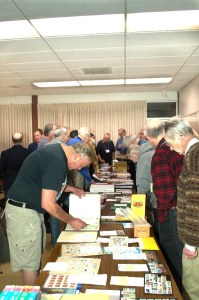 Busy silent auction night, 2/9
